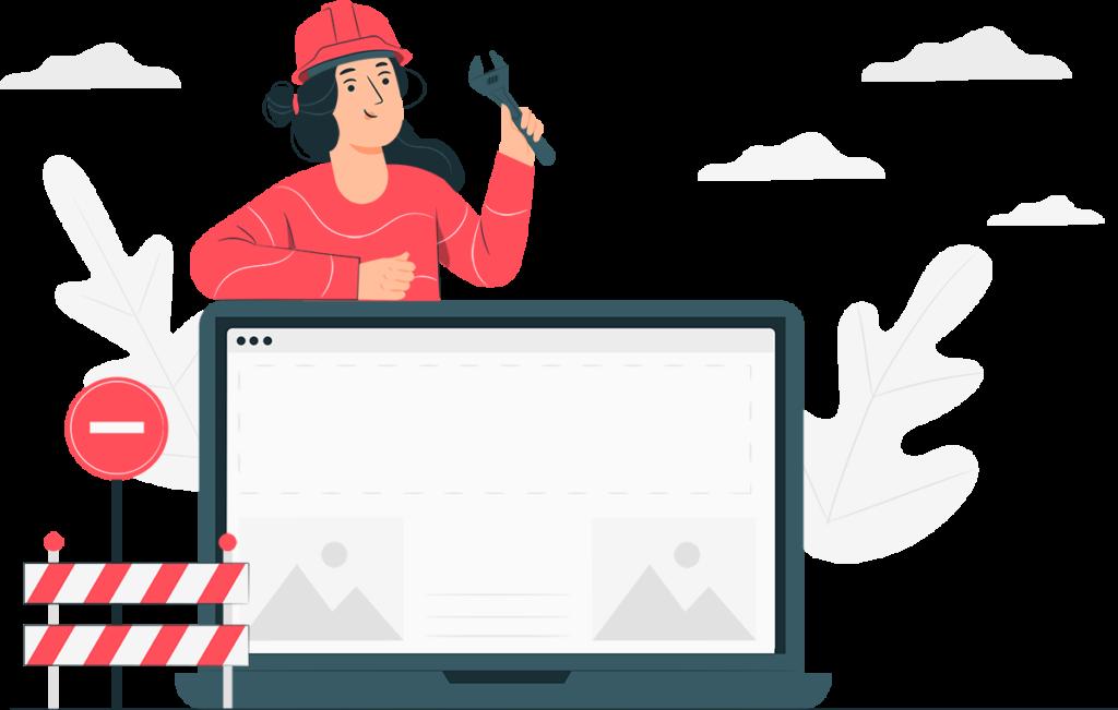 Homepage Verwaltung